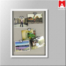 Contemporary wall art Book picture frame White Frame wholesale clips Diy photo frame Backboard