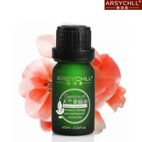 balancing skin&relieving Hydropic with green glass bottle tennjikuaoi scented rose geranium oil