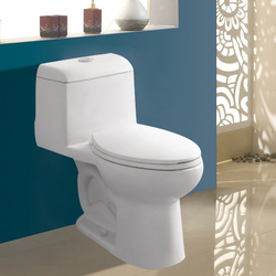 hot sell one piece toilet 300mm sanitary ware Thailand Malaysia