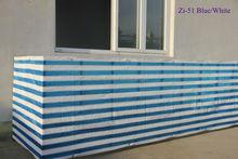 HDPE balcony decorating color stripe shanghai