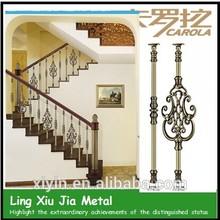 Caliente de la venta del producto carola interior barandilla de aluminio/balaustrada/barandilla de la escalera