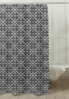 High-quality modern style 100% polyester jacquard Curtain, Pigment Printed Shower Curtain, design for design for home
