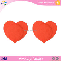 Popular Sexy Disposable Adhesive Heart Shape Nipple Cover For Women