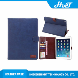 2016 high quality high quality leather case for ipad