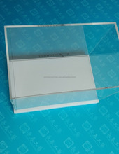 Custom acrylic display case / transparent plastic cases / clear plastic boxes