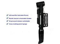 Aluminium alloy automatic LD head mini bicycle pump bike tools