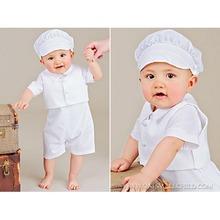 2015 vendita calda bambino battesimo set, bambino vestito battesimo vestito