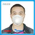 Máscara de poeira ffp2 pm2.5 realista velho máscara/melanina controle máscara