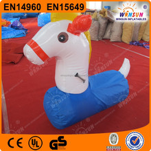 funny pvc inflatable animal toys for kids