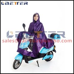 Factory price polyester rain poncho sleeves for motorcycle bike
