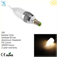 bulk buy from china 3w epistar high power led candle e14 bulk led candle