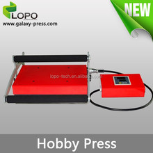 big promotion Hobby Heat Press Machine for sublimation printing from Lopo