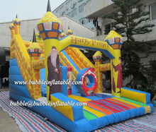 Themed Character cartoon inflatable slide