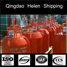 Helenshipping supplies marine safety foam filledl solar marker buoys