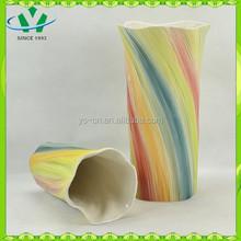 YSv0005 home decoration ceramic vases modern shapes