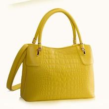 2014 fashion brand designer 100% high quality alligator handbags women wholesale Guangzhou