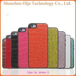 Olja Crocodile Christmas Mobile Phone Case For IPhone6, Cheap Mobile phpne case For iphone 6, For Cellphone case iphone