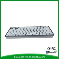 Hot selling rechargeable lithium battery bluetooth keyboard for ipad