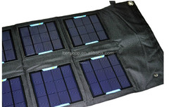 Top Quality Mobile Phone Solar Charger Bag With 18W Solar Rechargeable Bag