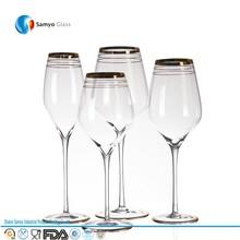 vino barato al por mayor gafas gafas de cristal copas de vino con el vástago