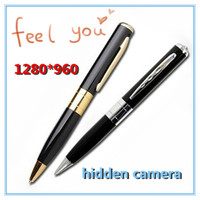 1280*960 Mini pen very very small hidden camera, wireless motion sensor hidden camera, hidden camera hot video