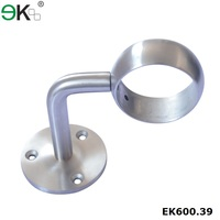 Stainless steel handrail fittings wall bracket for outdoor steps