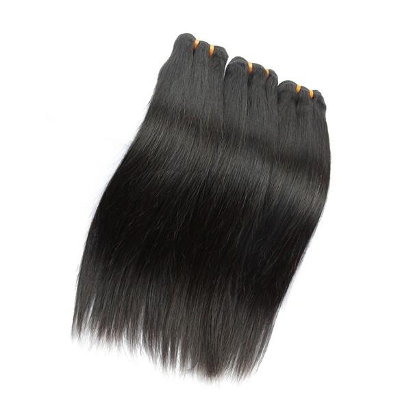 JP aaaaa 100% remy extensions de cheveux humains, Usine prix droite remy cheveux