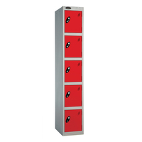 Aisa Popular Used 5 doors almirah chemical sample cupboard z shape 2 doors colorful steel lockers