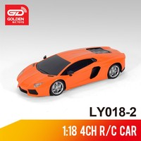 Popular wl toys 1:18 4-ch rc toy car with light for kids