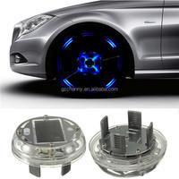 2015 New 4 Modes 12 LED Car Auto Solar Energy Flash Wheel Tire Rim Light Lamp Decoration Cover 1999-2013