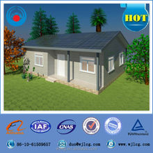 T family economic prefabricated house for family living