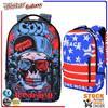 BBP302 Cool skull Large Capacity high quality school bags,school mochilas