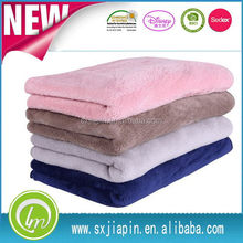 New style hot solid color new born baby blanket