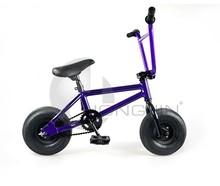 Mini bmx freestyle para adultos de la bicicleta stunt 10'' con marco de aluminio