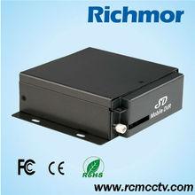 4 canales DVR H.264 SD 3G GPS WIFI G-sensor DVR móvil para el vehículo