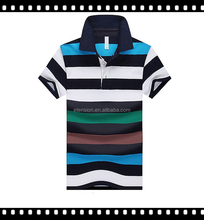 Top Quality Men's Brand Polo shirt /Men's Formal Polo Striped Polo Shirt