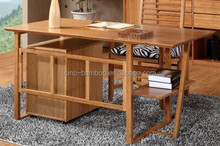Modern Cheap bamboo study table for home and office use