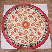 round table overlay/round table cloths cotton/round tablecloth 120
