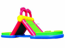 Commerial Grade Heavy Duty Inflatable Water Slides Wholesale Price