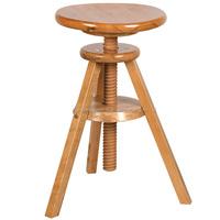 Solid wood Adjustable stools