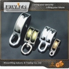 HOT SALE!!! Zinc Plated 30mm Metal Pulleys with Screw Bolt