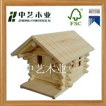 Good quality engraving and handmade wood craft bird house