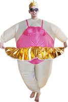 New arrival inflatable party ballet dancer costume,advertising inflatables - 25794#
