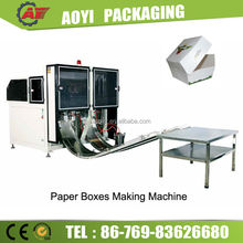 High Speed Paper Box Folding and Gluing Machinery