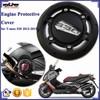 BJ-EPC-YA001 Moto Parts Manufacturers CNC Aluminum Engine Protective Cover For Yamaha T-max