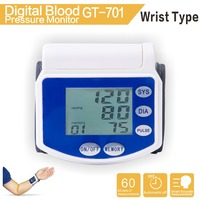 Wrist Watch Blood Pressure Monitor With 60 sets data memories
