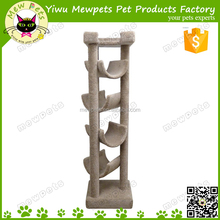 luxury tall happy pet cat tree, cat scratching tree
