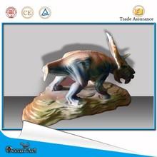 Pachyrhinosaurus artisanat réduit petit dinosaure modèle de la sculpture