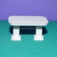 1:30 ABS plastic scale model desk miniature model table for inner house design layout