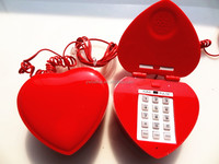 brand new novelty telephone design with red lip
